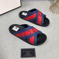 G1 13カラーカラーカラースリッパ夏の男性靴滑り止めカジュアルサンダルデザイナーカーフスキンオリジナルファッションメンズシューズ22
