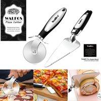 Walfos из нержавеющей стали Pizza Cutter Cake хлеб пироги нож печенье тесто бытовые кухонные диски приготовления инструментов
