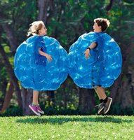 New Inflatable Bouncers Body Bump Bumper Ball PVC Air BubbleS Outdoor Kids Game Bubble Buffer Zorb Balls party OutdoorS sport Activity 90cm