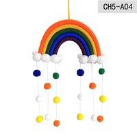 قوس قزح الطفل غرفة الديكور دليل نسج سحابة الكرة المعلقات الاطفال غرفة الجدار شنقا المنزل الأطفال لطيف متعدد الألوان 14JY G2