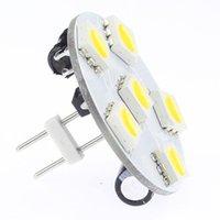 Ampuller G4 LED Lamba Geri Pin Arka 12 V 24 V 10-30 V RV Işık Tekne Oto Lighitng 10 adet / grup