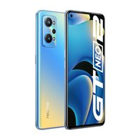 """Original Oppo Realme GT NEO 2 5G Mobile Phone 8GB RAM 128GB 256GB ROM Snapdragon 870 64.0MP HDR NFC 5000mAh Android 6.62"""" Full Screen Fingerprint ID Face Smart Cell Phone"""