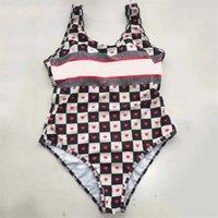 Designer Herz Print Womens Badebekleidung Bikinis Zwei Stück Schulter Push Up One Piece Badeanzug Sommer Schwimmanzug