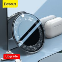 Baseus Upgrade 15W Wireless Charger For iPhone 12 11 X Xs Max Xr Fast Wireless Phone Charger For Samsung S10 S9 Xiaomi MI9