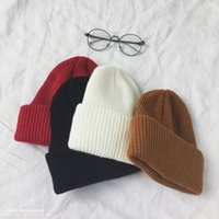 Unisex Couple Winter Hats For Woman Beanies Knitted Solid Cute Hat Girls Female Beanie Caps Warmer Bonnet Ladies Ski Cap Berets