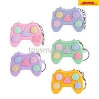 Fidget Toys Mini Handle Game Keychain Memory Games For Kids Adults Handle Memory Training Maze Cube Gadget