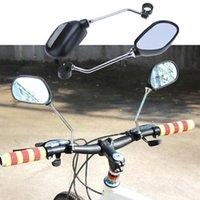Un par de espejo trasero bicicleta bicicleta retrovisor manillar espejos de giro de 360 grados ciclismo vista posterior MTB Bike Seguridad Vista posterior Retrovisor 718 Z2