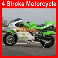 Mini Superbike Motorfiets 49cc 50cc 4 Stroking Sport Small Locomotive Moto Bikes Hand Start Scooter Kart Kinderen Gift Racing Real Autobike Coole Benzine Motor