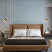 Pendant Lamps Europe Led Stone Crystal Nordic Light Lamp Luminaria Pendente Home Lighting Wall Moon Bedroom Livingroom