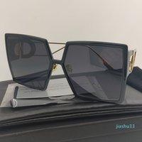 2021Montaigne Gafas de sol Mujer Marca De Color Plaza Negra Gafas De Sol Mujeres Futurista Retro Moda Gafas de Sol Rectangular Hombres 30Montaigne