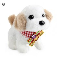 Electric Plush Simulation Puppy Pets Doll Cute Smart Robot Dog Interactive Toy for kids and so on