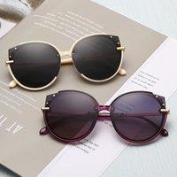 Солнцезащитные очки Женские Летние Солнцезащитные Очки 2021 Мужская Анти ультрафиолетовая Круглая Лицо Большой Чистый Красный Маленький