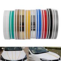 Инструменты для ремонта Наборы наборов 1 рулон многоцветный полосатый PIN-код на полоску паровой режим двойной линии ленты автомобиля наклейка наклейки наклейки виниловые стикеры