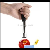 Vegetable Tools Kitchen, Dining Bar Home & Garden Drop Delivery 2021 Stainless Steel Fruit Pear Corers Seed Remover Pitter Easy Twist Kitchen