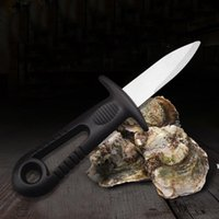 Oyster Knife Scappamento Coltello In Acciaio Inox Pratico Pesce Seafood Open Shell Tool Durevole multifunzione Pratico Cucina Utensili da cucina HWF6719