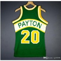 009 Gençlik Kadın Vintage Gary Payton Mitchell Ness 94 95 Kolej Basketbol Forması Boyutu S-5XL veya Özel Herhangi bir isim veya numara forma