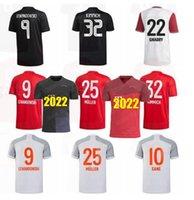 Bayern Futbol Forması 20 21 22 Lewandowski See Münih Coman Muller Davies Futbol Gömlek Erkekler Kids Kiti 2021 2022 Humanrace Dördüncü
