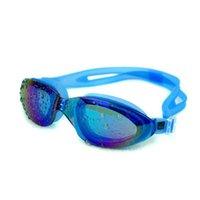 السباحة اللصق المهنية للماء نظارات واضحة للأشعة فوق البنفسجية السباحة السباحة نظارات قابل للتعديل السباحة natacion piscina wmtosi