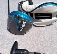 2021 Golfclubs SIM2 MAX Treiber 9.0 10.5 Grad TM50 Graphit R / S / Flex Welle für Männer mit freiem Kopfbedeckung