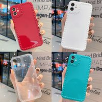 Fashion Candy Colorful 3DLove Shockproof Phone Cases for iPhone 7 8 Plus X XS XR 11 12 Pro Max Case