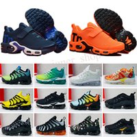 TN KPU Kinder Athletische Schuhe Kinder Jungen Basketball Sneakers Kind Huarache Legende Blau Größe 28-35