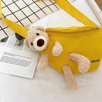 Summer 2021 Bag Luxurys Messenger New Ssummer Women's Chest Canvas Waist Fashion Udtgm