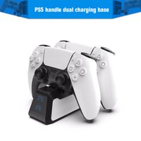 Dual Fast Charger for PS5 Wireless Controller USB 3.1 Type-C Charging Cradle Dock Station 5 Joystick Gamepad