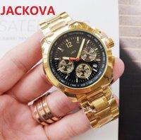 Wholesale Mens Full Functional Watches 41mm Classic Design Men Watch Quartz Movement Sport Wristwatch Gift Clock Fine Stainless Steel Wristwatches