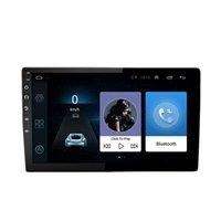 الروبوت سيارة ستيريو 10.1 بوصة شاشة تعمل باللمس مع ملاحة GPS مزدوجة الدين بلوتوث م استقبال دعم الهاتف مرآة رابط مزدوجة USB واجهة النسخ الاحتياطي كاميرا