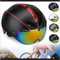 Caschi protettivi Gear Sport All'aperto Drop Consegna 2021 Cairbull Aero-R1 Strada ciclismo Bike Racing Bicycle Safety Goggles Casco magnetico