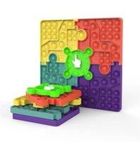 Fidget Brinquedos Puzzle Splicing Combinado Ponteiro Rotativo Ponteiro Prevalente Jogo Family Game Fidgets Sensory Autism Ansiety Stress Reliever Descompression Toy