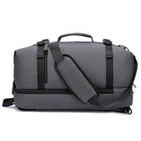 Duffel Bags WeysFor Vogue Saco de Viagens Masculina Grande Nylon Duffle Bagagem para Homens Mulheres Impermeável Multifuncional Embalagem Cubos