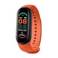 M6 Pulseira inteligente Frequência Heart Heat Health Health Wristband Waterproof Bluetooth Banda Fitness Tracker Pulseiras