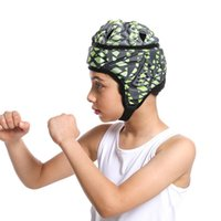 Cycling Helmets Kids And Youth Prefessional Football Soccer Helmet Rugby Scrum Cap Headguard Goalie Hat Head Protector