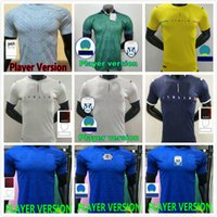 إيطاليا 2021 لاعب نسخة Insigne Barella Soccer Jersey Home Sensi Totti بعيدا الأبيض الثالث Chiellini Belotti Maillot de Futol 20 21 قمصان كرة القدم