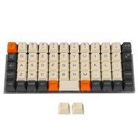 Keyboards YMDK Planck YMD40 V2 Niu40 Preonic Keyset Carbon Laser-Etched 40% Top Print OEM Keycap 1.5mm Thickness PBT