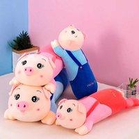 Nuovo software grande cinturino lungo peluche coppia coppia cuscino bambola medica piggx1i