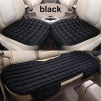 Car Seat Covers Cover Front Rear Thickened Velvet Cushion Pad Keep Protection Mat Warm Winter Non Slide Auto Protector Q2H0
