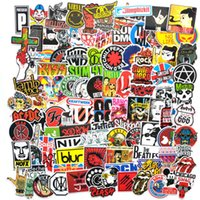 Rock Band 110 Çıkartmalar Grafiti Su Geçirmez Kaykay Kişiselleştirilmiş Bavul Bilgisayar Cep Telefonu Araba HCP2