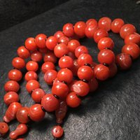 bracelet Straight natural South Red bead with ruddy color, good quality and style