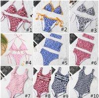 Swim Wear Fashion Mix Mescolo 10 Stili Donne Costumi da bagno Bikini Set multicolors Tempo estivo Spiaggia Abiti da bagno Abiti da bagno Vento Costumi da bagno Alta qualità