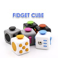 Fidget Cube Toys Stress Relief Squeeze Fun Decompression Anx...