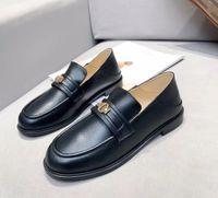 stylishbox- y21051304 ivoire / noire loafer chaussures plateaux de veau cuir véritable cuir de travail occasionnel école oxford dames