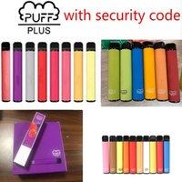 Disposable E-cigarettes PUFF BAR PLUS Cigarettes 800+Puffs Vape Pen 550mAh Battery 3.2ml Pods Cartridges Pre-Filled Limited Edition Vaporizer