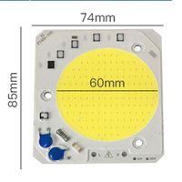 가벼운 구슬 1 / PSC 고전압 프리 드라이브 램프 COB 칩 30W 40W 50W 입력 스마트 IC 110V 투광 조명 통합 소스