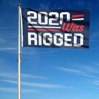 Billigste Trumpfwahl 2024 Trump Hepping Flagge 90 * 150cm Amerika Hanging Große Banner 3x5ft 2020 wurde manipuliert, beschuldigte mich nicht, dass ich für Trump stimmte