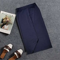 Skirts 2021 Split One Step Bag Skirt Half-length Female Summer Mid-length High Waist All-match Hip