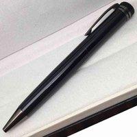 طبعة محدودة 1912 أقلام عالية الجودة الأسود الأحمر الفضة المعدنية قلم الكرة نقطة القلم القرطاسية مكتب اللوازم 2021
