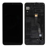 Pantalla original OEM para Samsung Galaxy M10 SM-M105F SM-M105F / DS Pantalla LCD Pantalla táctil Digitalizador Reemplazo de reemplazo con marco