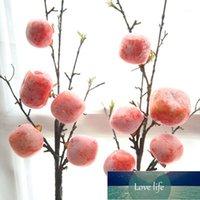 Yapay Çiçek Berry Meyve Kurutulmuş Hurma Gül Noel Ev Için Ev Düğün Dekorasyon DIY Çiçek Duvar Sahte Çiçekler Toptan1